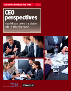 CEO Perspectives Screen Shot